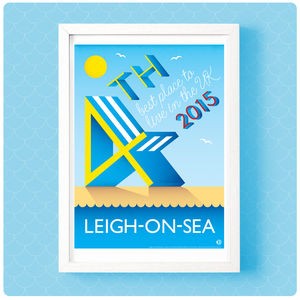 Leigh On Sea Print - posters & prints