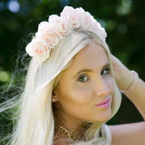 Carnation Flower Crown - wedding fashion