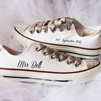 Bride custom wedding converse nappy head jpg 350x350 Converse wedding shoes 033a4e589