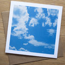 Cloud Rococo Greetings Card For All Occasions