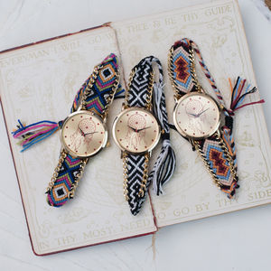 'Dream Catcher' Fabric Watch - watches
