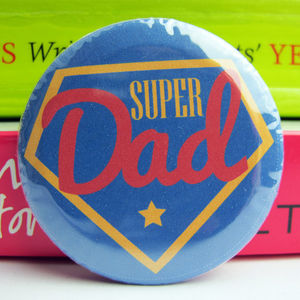 Superdad Badge - wrapping