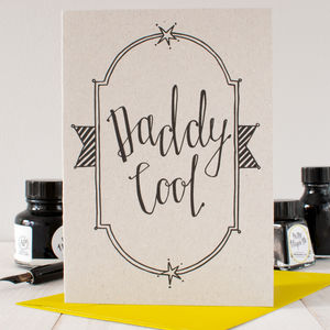 'Daddy Cool' Father's Day Card - birthday cards