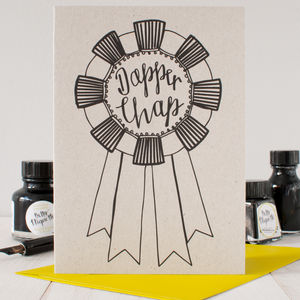 'Dapper Chap' Card - birthday cards