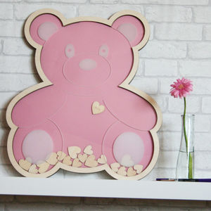 Personalised Bear Drop Top Guest Book