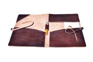 Document Case Leather Portfolio A4