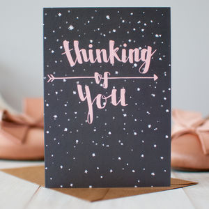 'Thinking Of You' Sympathy Card