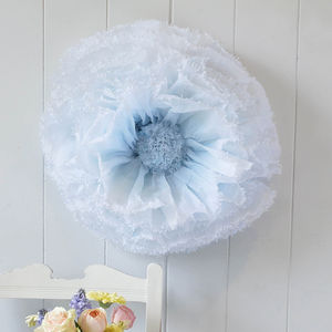Giant Hand Dyed Blue Ombre Paper Flower Hydrangea - baby shower gifts & ideas