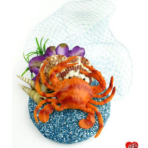 Enchantment Under The Sea Crab Fascinator - womens