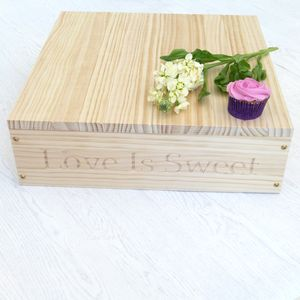 Personalised Wooden Cake Stand - cake stands