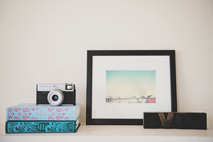 The Beach Hut Photographic Print