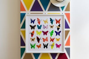 'Flutterflies' Boutique Housewarming Gift Artwork - pictures & prints for children