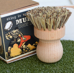 Rugby Muddy Boot Brush - shoes & boots
