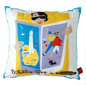 Whitley Bay Cushion - cushions