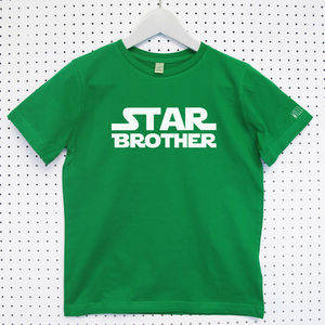 Star Wars 'Brother' Child's Organic T Shirt