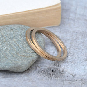 Slim Wedding Rings In 9ct Yellow Gold - men's wedding bands