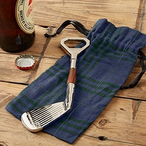 Golf Club Shaped Bottle Opener - gifts for golfers