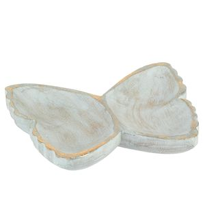 Wooden Butterfly Dish - jewellery storage & trinket boxes