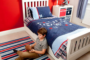 Sports Single Quilt - children's room