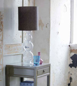 Glass Bubble Table Lamp - living room