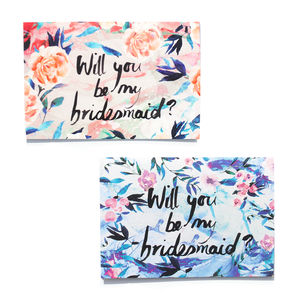 Will You Be My Bridesmaid Greeting Card - announcement cards
