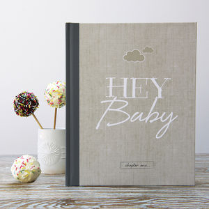 Baby Journal And Record Book - engagement gifts