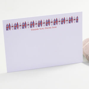 Personalised Teenager Thank You Cards - thank you cards
