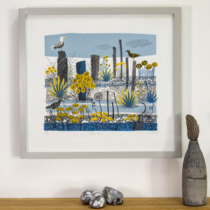 Shoreline Limited Edition Silkscreen Print - art by category