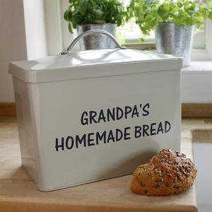 Personalised Bread Bin - gifts for grandparents