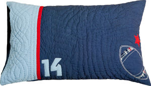 Sports Quilted Pillowcase - soft furnishings & accessories