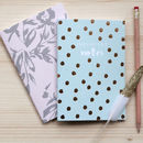 Set Of Two Luxury Notebooks