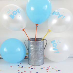 Oh Boy Blue Balloons - baby shower gifts & ideas