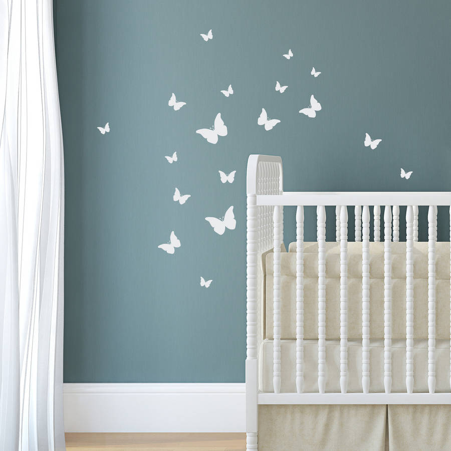 Pack Of Decorative Wall Stickers By Nutmeg