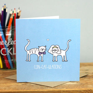Wedding Cats Card - wedding cards & wrap