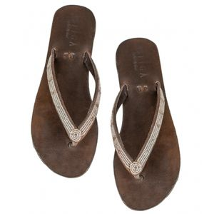 Aspiga Clea Silver Sandals - shoes