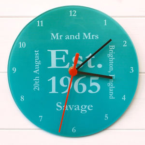 Mr And Mrs Clock - new in home