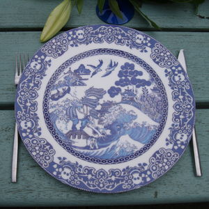 Willow Plate Extreme Weather - plates