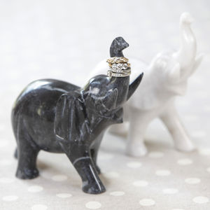 Marble Ring Holder - jewellery storage & trinket boxes
