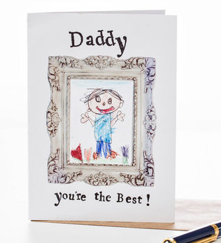 'Daddy You're The Best' Card