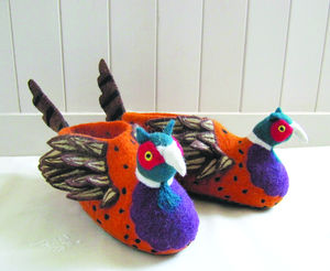 Adult Freddie The Pheasant Slippers - slippers