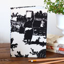 Fabric Toile Du Jozi Journal