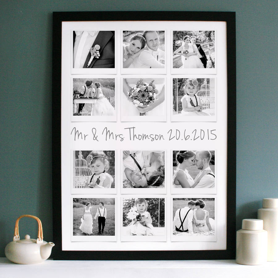 black framed print black and white print