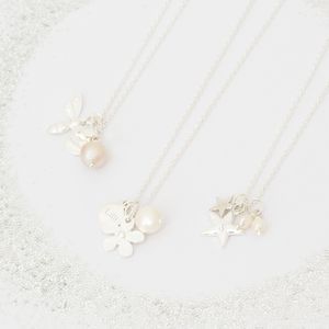 Create Your Own Amelie Personalised Necklace - flower girl jewellery