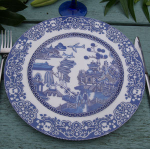 Willow Plate Globalisation - dining room