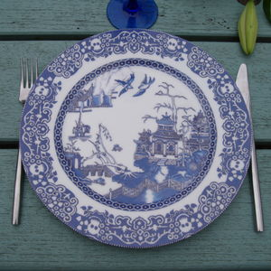 Willow Plate Deforestation And Pollution