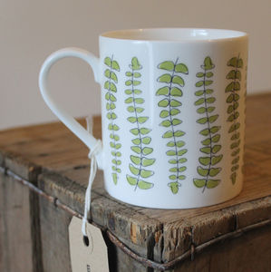 Fern Leaf Mug - tableware