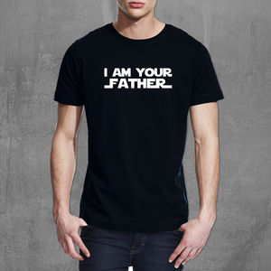 Star Wars 'I Am Your Father' T Shirt - gifts for him