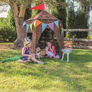 Wicker Hut - let's play outside