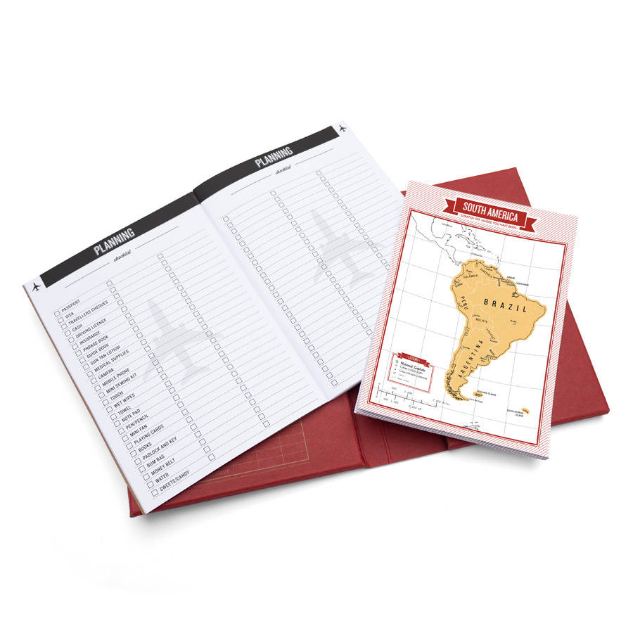scratch map travel journal red by luckies – Luckies Travel Scratch Map