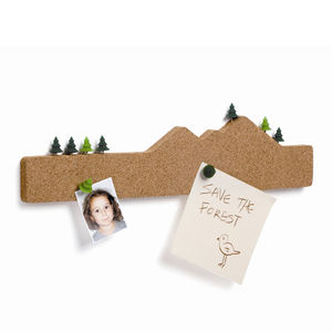 Memo Mountain Cork Board - kitchen accessories